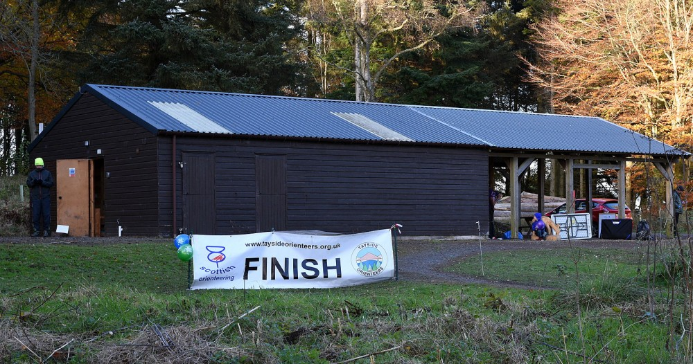 The Forestry Shed and Finish