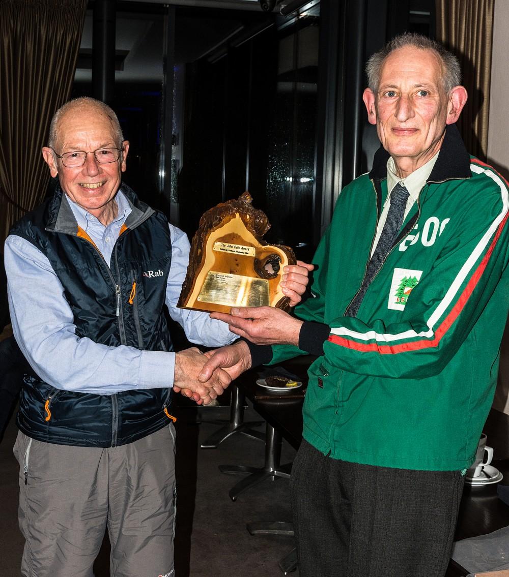 John Colls Award presentation