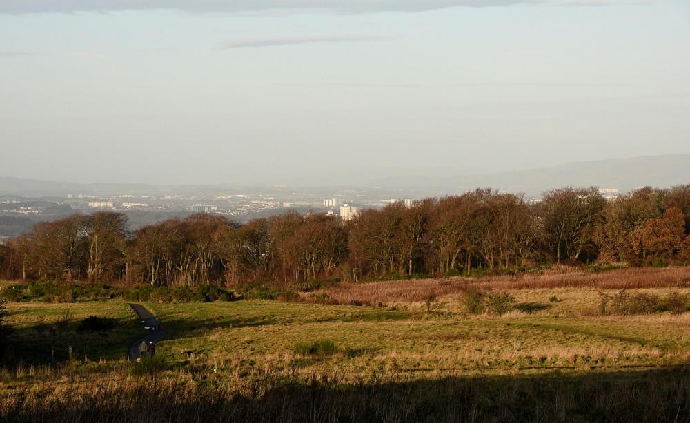 Cathkin Braes (Glasgow beyond)