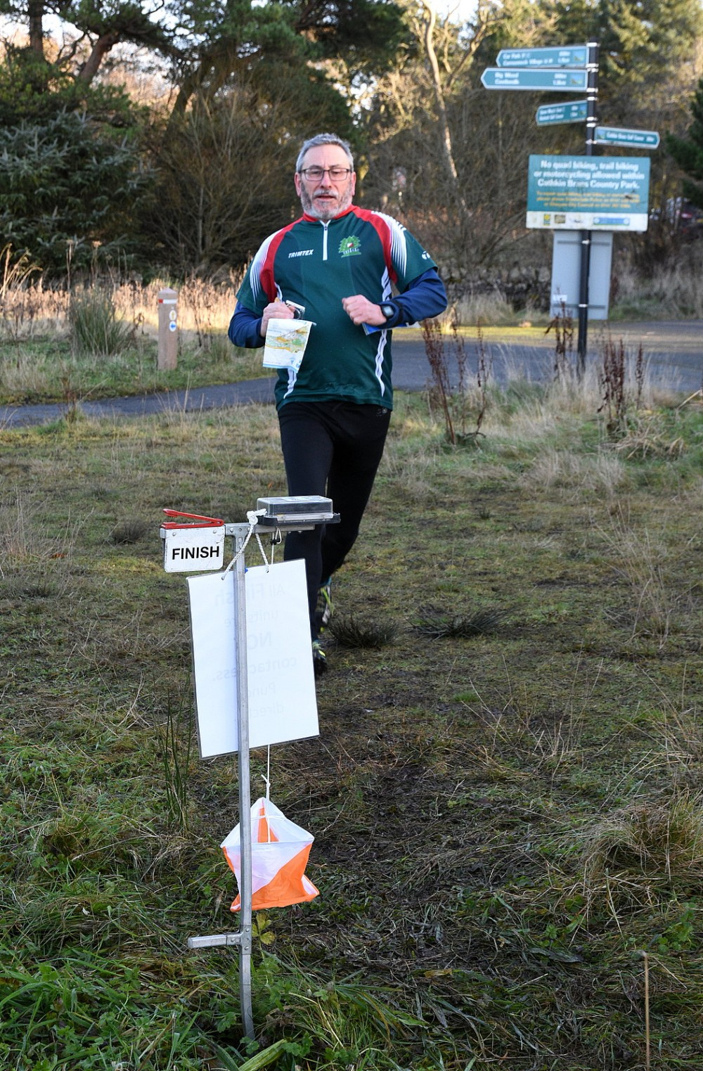 Finish at Cathkin Braes