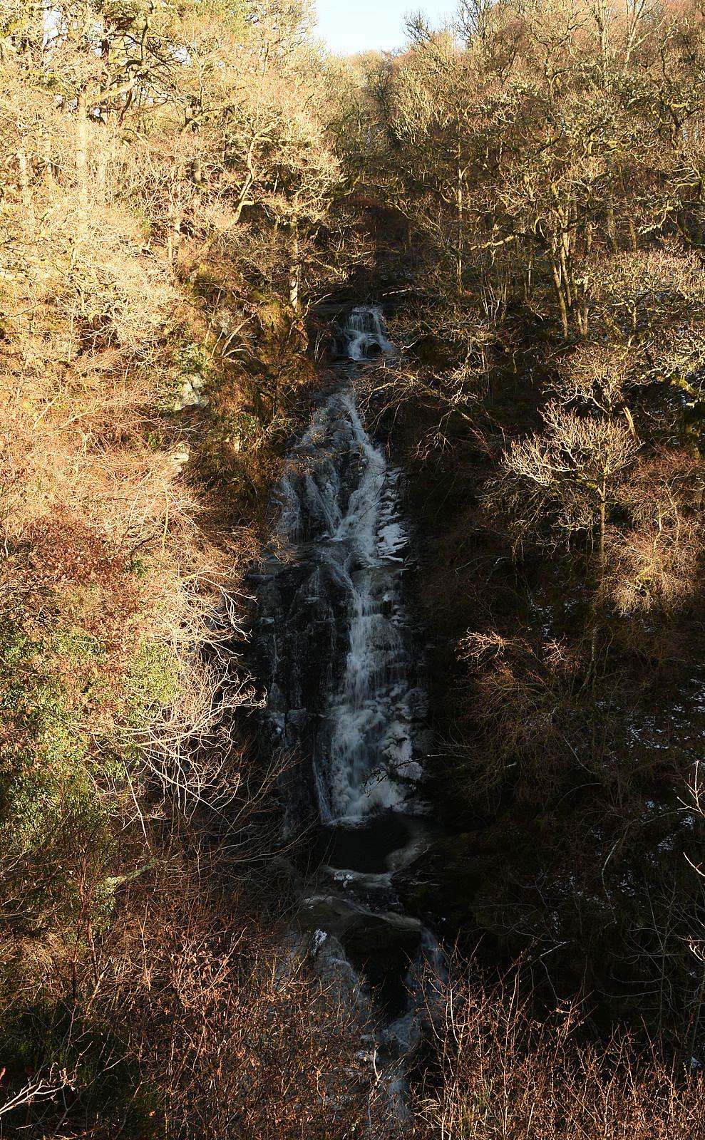 Black Spout waterfall