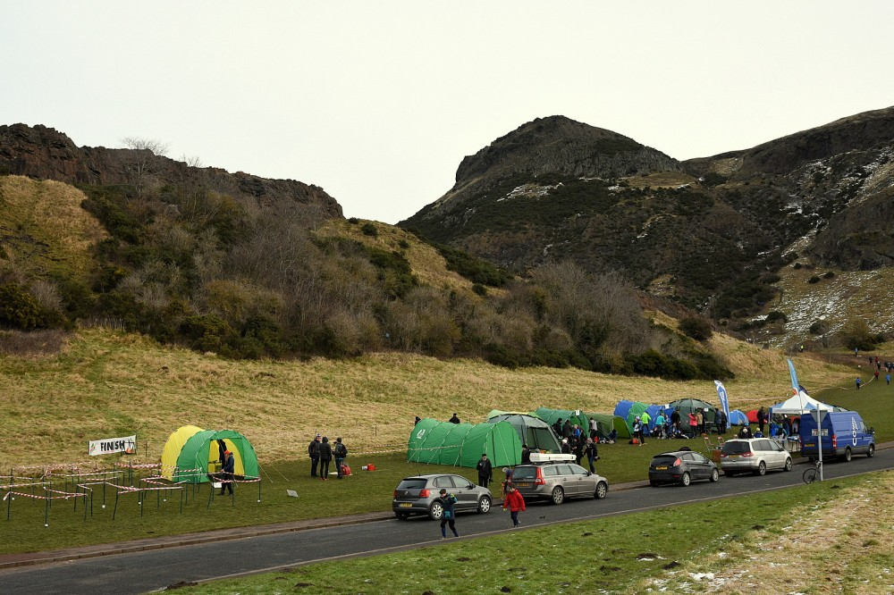 Sunday's Assembly area and Arthur's Seat