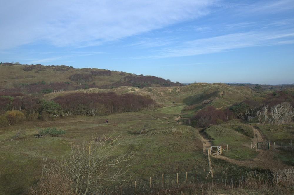 Merthyr Mawr terrain