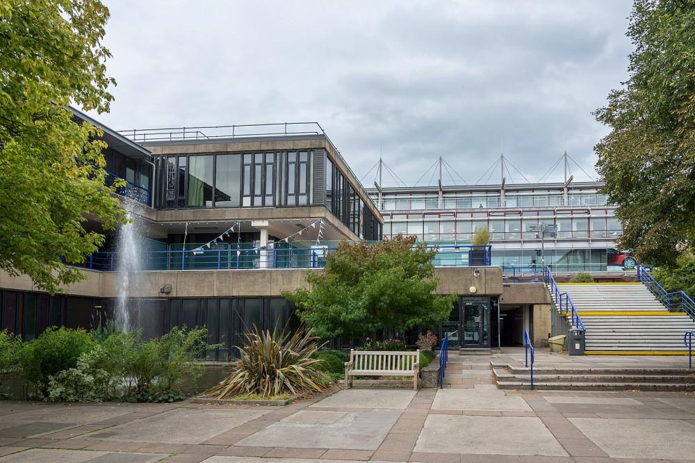 British Sprint - central campus, looking N