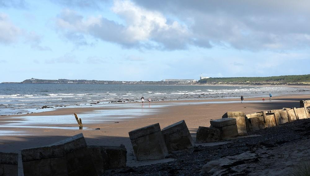 The beach at Roseisle (looking NE)