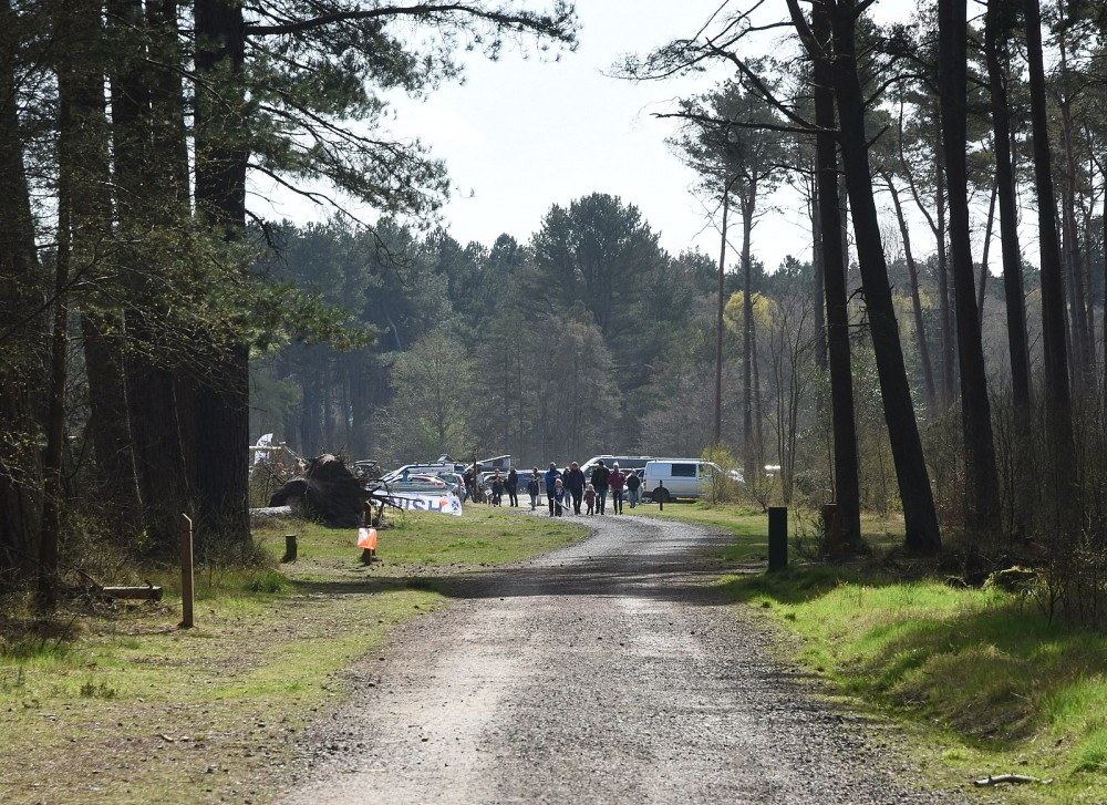 The final control and Finish, Tentsmuir