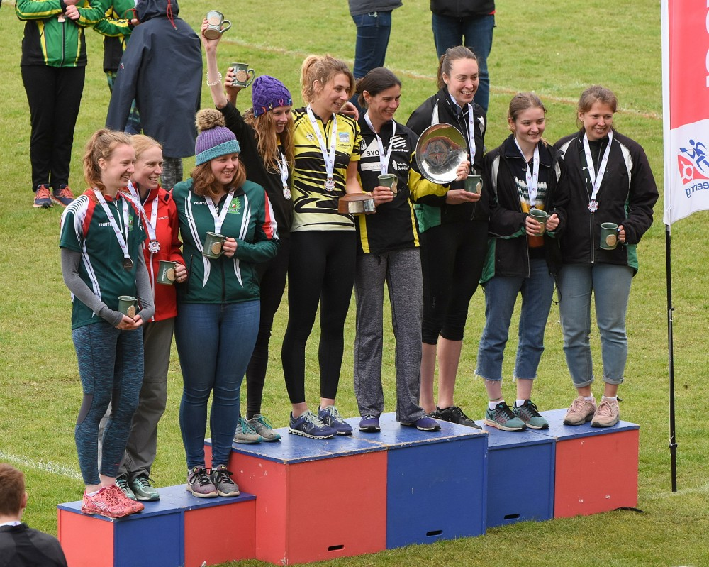 Relays - Women's Premier podium