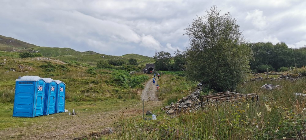 Arisaig - route to Starts