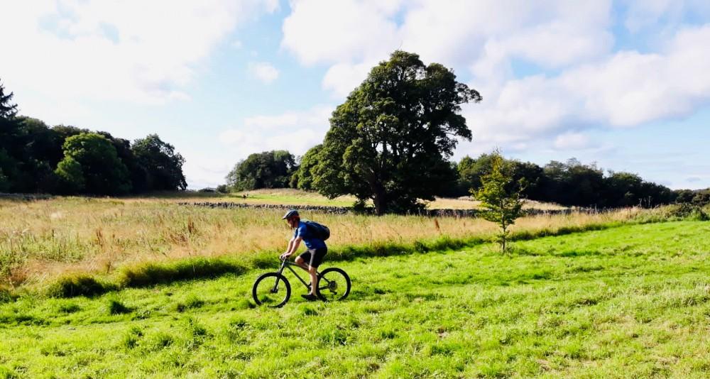 Rider near Craigmillar Castle