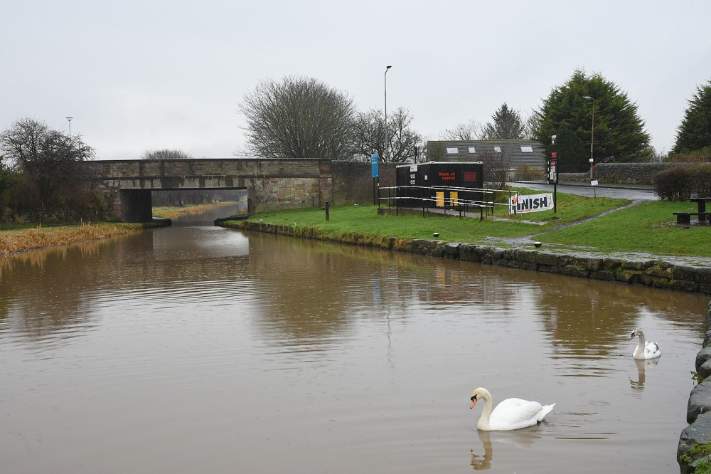 The Union Canal at Port Buchan, Broxburn (February)