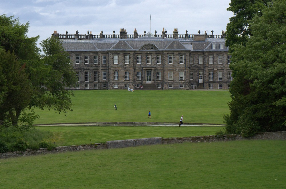 Hopetoun House from the west