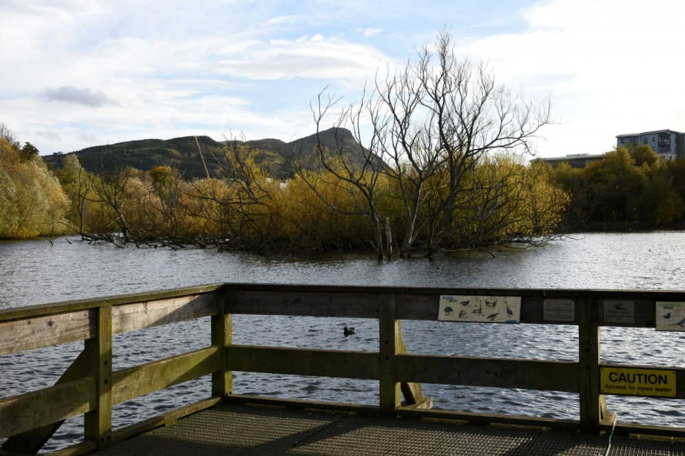 Lochend Loch and Athur's Seat