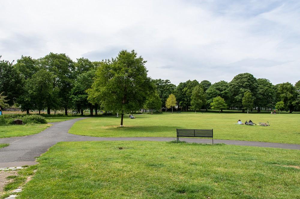 Victoria Park - view west