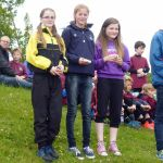 Winning P7 girls