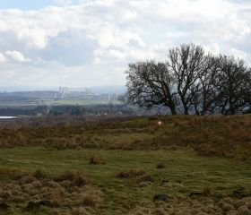 View S to Glasgow from Mugdock Country Park, Crawford Lindsay