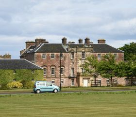 Archerfield House, Crawford Lindsay