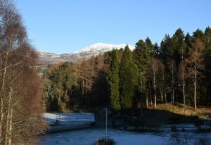 Ben Vrackie from the Atholl Palace Hotel, Crawford Lindsay
