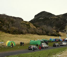Sunday's Assembly area and Arthur's Seat, Crawford Lindsay