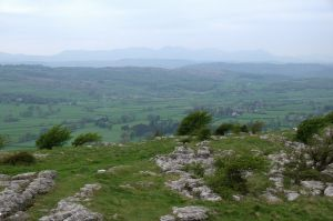 View NW from Hampsfell, Crawford Lindsay