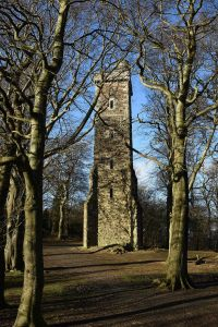 Corstorphine Hill Tower, Crawford Lindsay